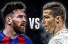 So sánh Messi và Ronaldo năm 2017