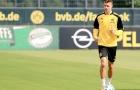 Buổi tập vắng Dembele của Dortmund