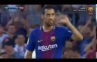 Đẳng cấp của Sergio Busquets vs Chapecoense