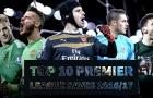 10 pha cứu thua đỉnh nhất Premier League 2016/17