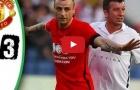 Highlights: Huyền thoại Man Utd 3-3 Luis Figo và các ngôi sao