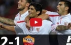 Highlights: Sevilla 2-1 Roma (giao hữu)