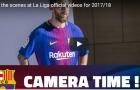 Messi và đồng đội rạng ngời trong buổi quay hình cho mùa giải mới