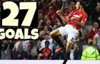 Nhìn lại tất cả các bàn thắng Zlatan Ibrahimovic đã ghi cho Man Utd