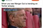 Ngay trận ra mắt, 'Wenger Out' đã làm loạn Twitter