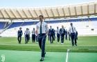 Các 'nam thần' Juventus đầy lịch lãm xuất hiện trên sân Olimpico