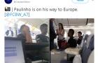 Fan Barcelona khóc thét vì Paulinho đã lên máy bay