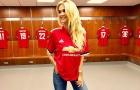 'Người tình tin đồn' của Mkhitaryan khoe dáng nuột nà tại phòng thay đồ Man Utd