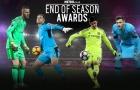 Những ƯCV cho 'găng tay vàng' Premier League 2017/18