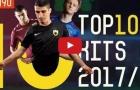 Top 10 áo đấu đẹp nhất mùa 2017/18
