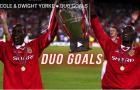 Andy Cole & Dwight Yorke - cặp tiền đạo đáng sợ nhất lịch sử Man Utd