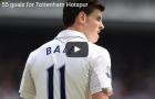 Tất cả 55 bàn thắng của Bale trong màu áo Tottenham