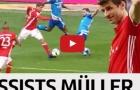 Tất cả các pha kiến tạo của Thomas Muller mùa 2016/17