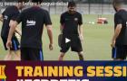 Barca và những đôi chân nặng nề bước ra sân tập