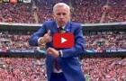 HLV Alan Pardew nhảy rất dẻo khi học trò 'đốt lưới' Man Utd