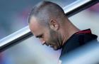 Iniesta thừa nhận tương lai tại Barca đang bị lung lay
