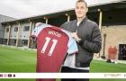 CHÍNH THỨC: Burnley có tiền đạo với giá kỷ lục