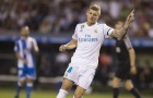 Deportivo 0-3 Real: Siêu phẩm từ Toni Kroos