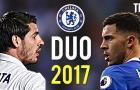 Sự kết hợp giữa Eden Hazard & Alvaro Morata