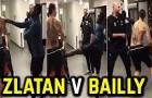 Eric Bailly cả gan dám đá Ibrahimovic trong phòng thay đồ