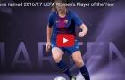 Nữ cầu thủ xuất sắc nhất châu Âu: Lieke Martens