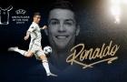 Vượt Messi, Ronaldo ẵm giải 'Cầu thủ hay nhất châu Âu' 2016/17