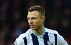 West Brom trì hoãn việc Jonny Evans đến Man City