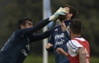 Sao M.U đấm Messi 'sấp mặt' trong buổi tập thứ 2 của Argentina
