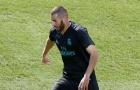 Bị tuyển Pháp bỏ rơi, Benzema lủi thủi ở lại tập luyện với đội trẻ Real Madrid