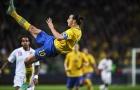 Góc siêu phẩm: Pha ngã người móc bóng thần sầu của Ibrahimovic vs Anh
