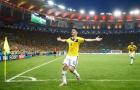 Góc siêu phẩm: Cú sút miễn chê của James Rodriguez trước Uruguay