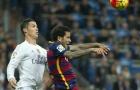 Khi Dani Alves làm Ronaldo bẽ mặt trên sân