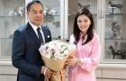Thái Lan chia tay nữ trưởng đoàn xinh đẹp