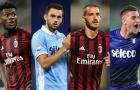 Đội hình kết hợp Lazio & AC Milan: Cặp trung vệ 'khủng'