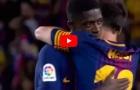 Màn ra mắt Barcelona của Ousmane Dembele vs Espanyol
