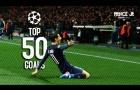 50 bàn thắng đẹp nhất Champions League 2016/2017