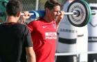 Torres rèn thể lực để chuẩn bị 'chiến' với AS Roma
