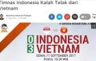 Báo Indonesia sốc nặng khi đội nhà thua U18 Việt Nam