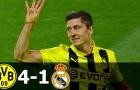 Dortmund từng hủy diệt Real Madrid 4-1