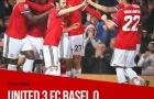 Chấm điểm Man Utd sau trận đại thắng Basel: Dấu ấn Bỉ trong lòng Quỷ đỏ