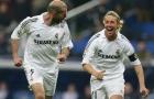 Guti kiến tạo cực đỉnh cho Zidane ghi bàn