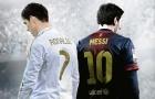 Messi đánh bại Buffon, fan Ronaldo chỉ 'cười nhẹ'