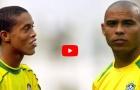 Show diễn của Ronaldo và Ronaldinho vs Argentina (1999)