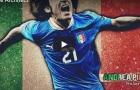 Andrea Pirlo - Mẫu tiền vệ không còn tồn tại