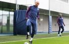 Đội trưởng Man City đã trở lại sân tập, sẵn sàng ra sân