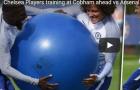 Các cầu thủ Chelsea 'chơi bóng cười' trước đại chiến Arsenal