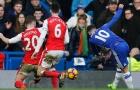 Eden Hazard biến hàng thủ Arsenal thành trò hề