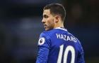 Hazard sẽ lần đầu được đá chính?
