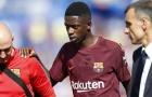 Barcelona có thể sẽ mất Dembele trong 4 tuần