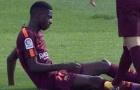Cận cảnh chấn thương của Dembélé trong trận đấu với Getafe